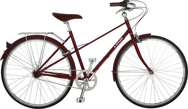 Linus Mixte 3 - Women's Color: Rosewood