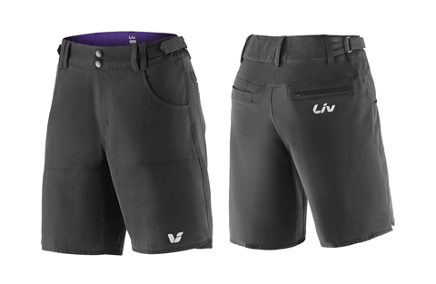 Liv Activo Baggy Short - Women's Color: Black