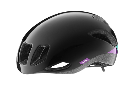 Liv Attacca Helmet Color: Black/Purple
