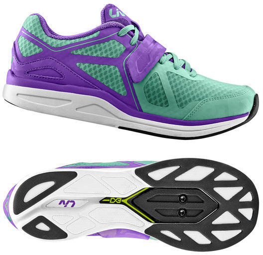 Liv Avida MES Fitness Shoe Color: Green/Purple