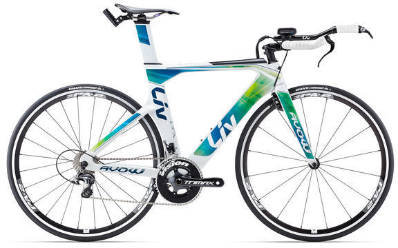 Liv Avow Advanced Color: White/Green/Blue