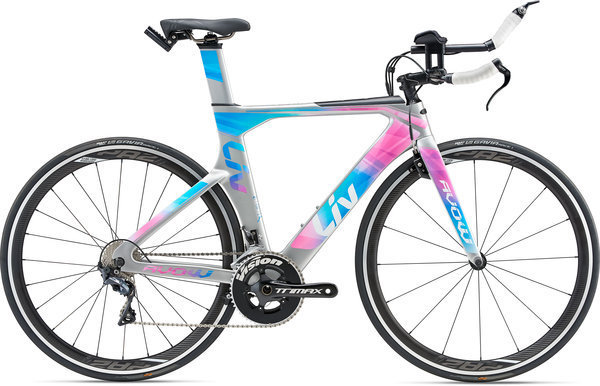 Liv Avow Advanced Color: Silver/Pink/Blue
