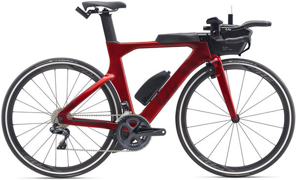 Liv Avow Advanced Pro 1 Color: Metallic Red