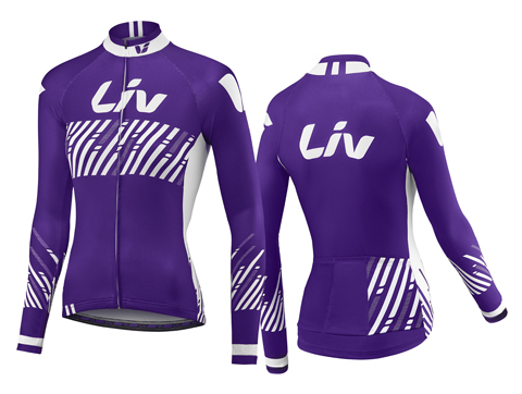 Liv BeLiv L/S Jersey - Women's Color: Purple