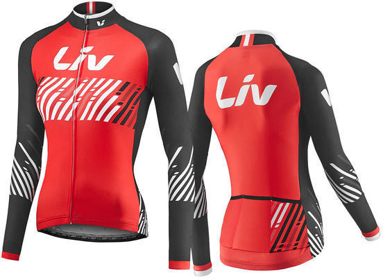 Liv Belong Sleeve Jersey Color: Red/Black