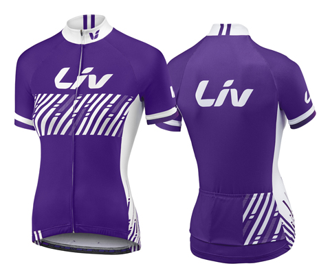 Liv Beliv S/S Jersey - Women's Color: Purple
