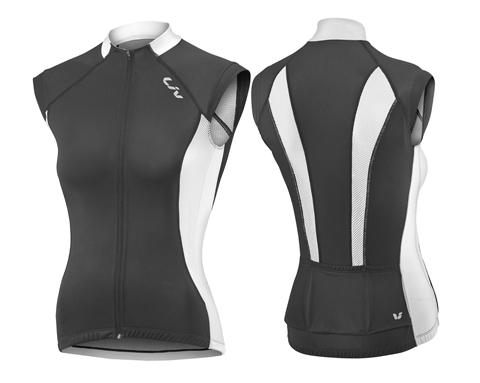 Liv Brisa S/L Jersey Color: Black/White