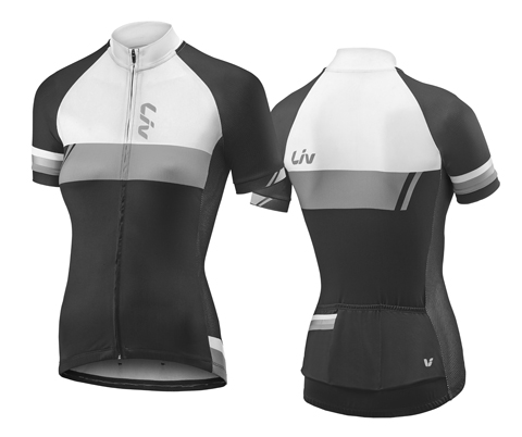 Liv Capitana S/S Jersey Color: Black/White