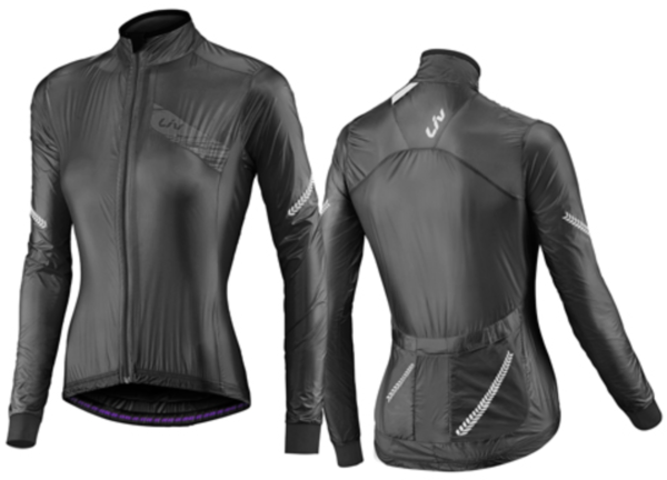 Liv Cefira Superlight Wind Jacket Color: Black