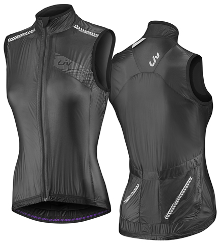 Liv Cefira Wind Vest Color: Black