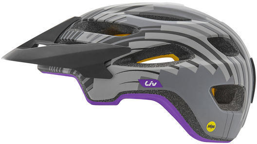 Liv Coveta Helmet MIPS Color: Tonal Charcoal