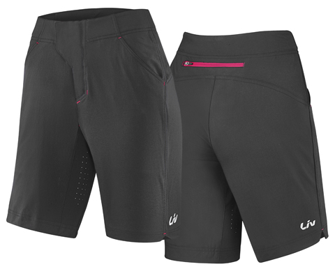 Liv Energize Off-Road Baggy Short Shorts Color: Black