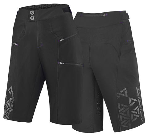 Liv Energize Off-Road Baggy Long Short Color: Black
