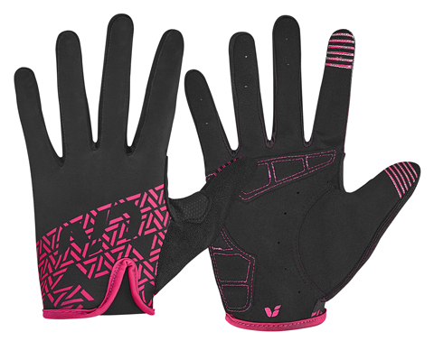 Liv Energize LF Gloves Color: Black/Virtual Pink