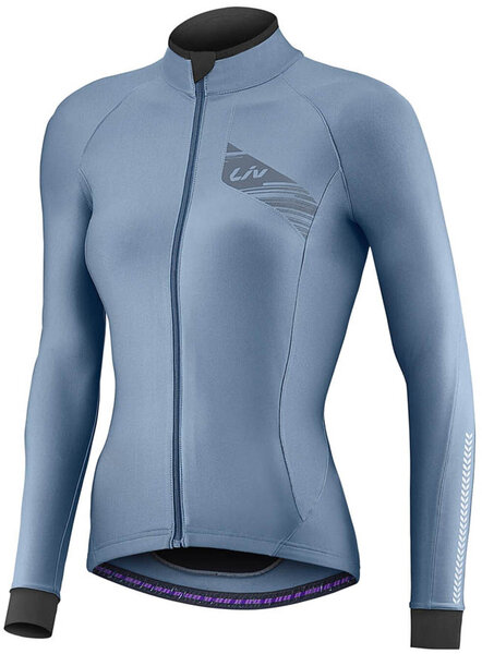 Liv Flara LS Mid-Thermal Jersey Color: Blue
