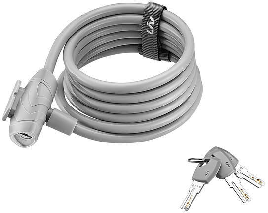 Liv Flex Key Cable Lock Color: Grey