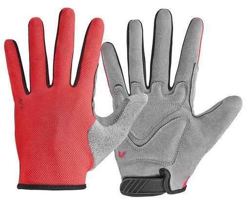 Liv Franca Long Finger Gloves Color: Coral