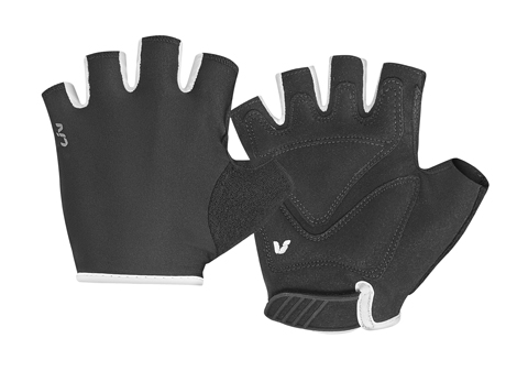 Liv Franca Short Finger Gloves - Women's Color: Black