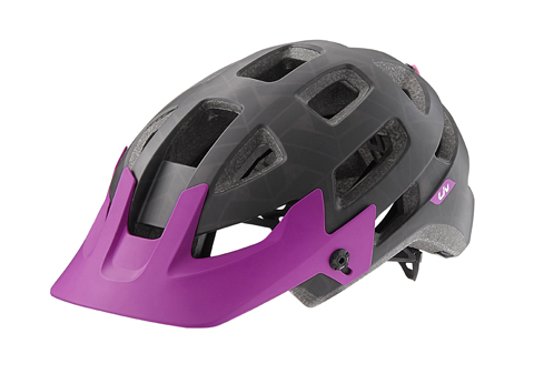 Liv Infinita Helmet Color: Black/Purple