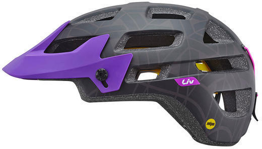 Liv Infinita Helmet MIPS Color: Black/Purple