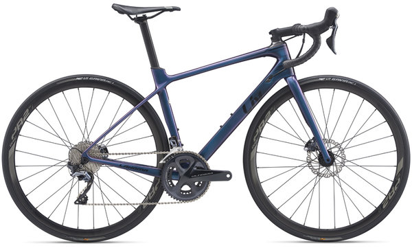 Liv Langma Advanced 1 Disc Color: Chameleon Blue