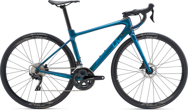Liv Langma Advanced 2 Disc Color: Chameleon Blue
