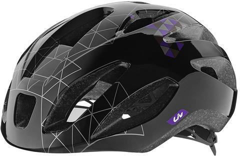 Liv Lanza Helmet Color: Black/Purple