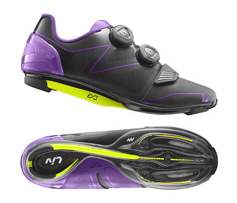 Liv Macha Road Shoes Color: Black/Purple