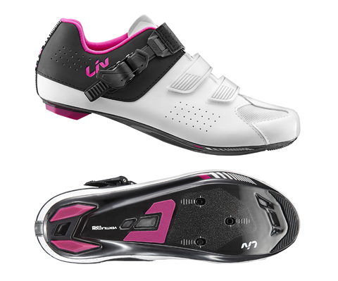 Liv Mova Road Shoe - Women's Color: White/Black/Pink