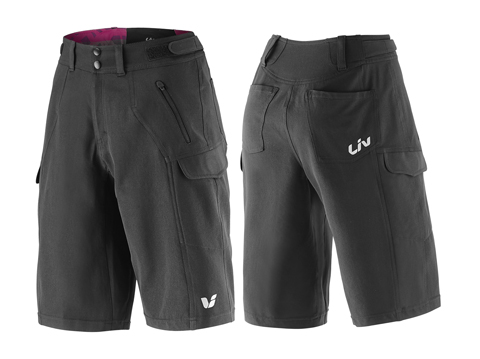 Liv Passo Baggy Short Color: Black