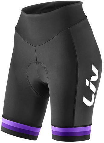 Liv Race Day Short Color: Black/Purple
