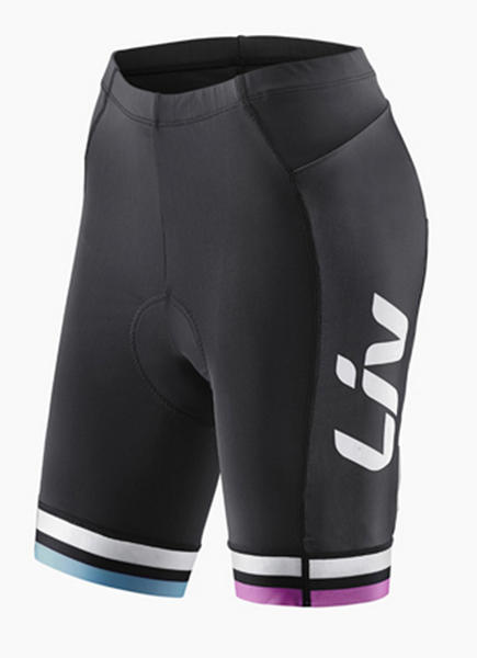 Liv Race Day Shorts Color: Black