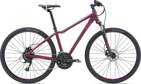 Liv Rove 2 DD Disc Color: Dark Magenta/Magenta