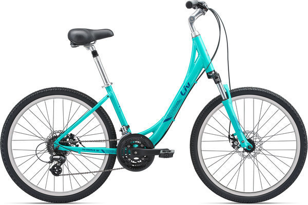 Liv Sedona DX W Disc Color: Aqua/Blue