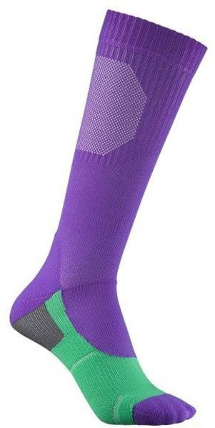 Liv Serene Compression Socks Color: Purple/Green