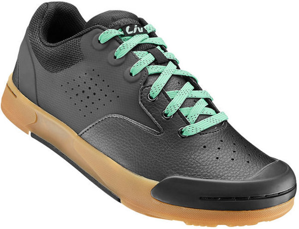 Liv Shuttle Flat Off-Road Shoe Color: Black/Mint