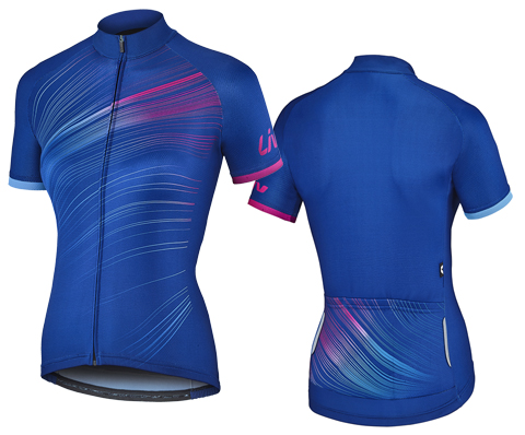 Liv Spectra Performance Short Sleeve Jersey Color: Blue