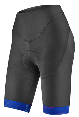Liv Spectra Performance Shorts Color: Black/Blue