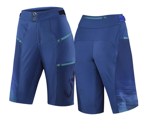 Liv Sumi Baggy Shorts Color: Blue