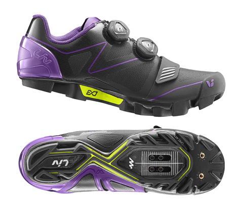 Liv Tesca Off-Road Shoe - Women's Color: Black/Purple