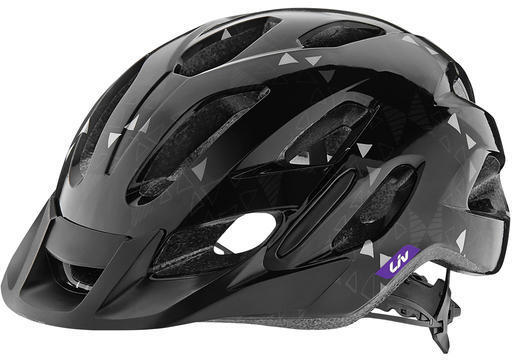 Liv Unica Youth Helmet Color: Black