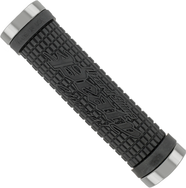 Lizard Skins Lock-On Peaty Grip Color: Black/Pewter