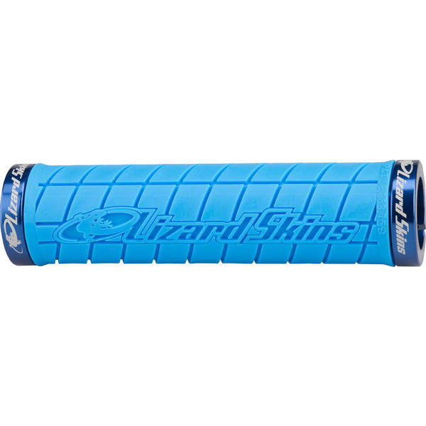 Lizard Skins Logo Lock-On Grips Color: Ice Blue