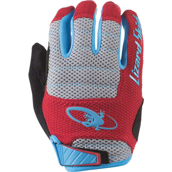 Lizard Skins Monitor AM Gloves Color: Crimson/Electric Blue
