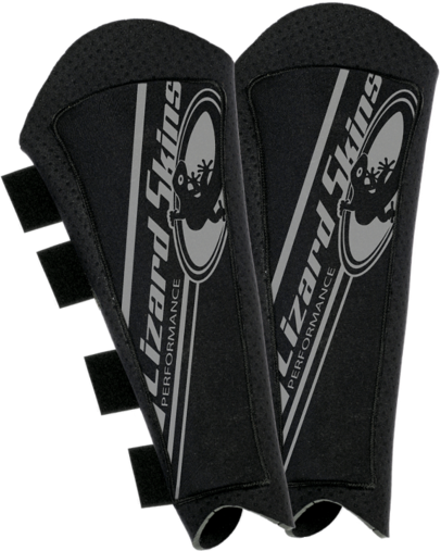 Lizard Skins Shin Guard W/ Hard Plastic Insert Color: Black