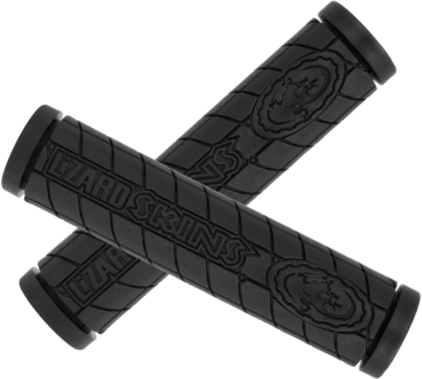 Lizard Skins Single Compound Logo Grips Color: Black