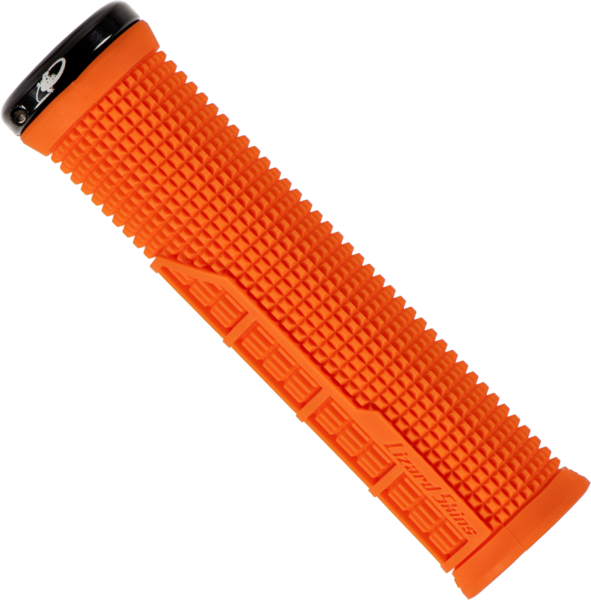 Lizard Skins Single-Sided Lock-On Machine Color: Blaze Orange
