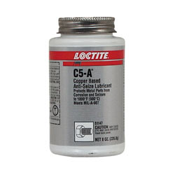 Loctite C5-A Anti-Seize Compound Size: 8oz Brush Can