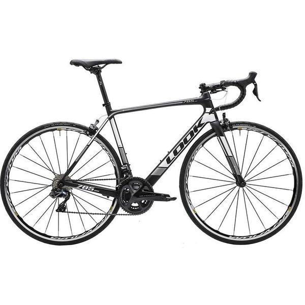 Look 785 Huez - Ultegra Di2 Color: Black/White Matte
