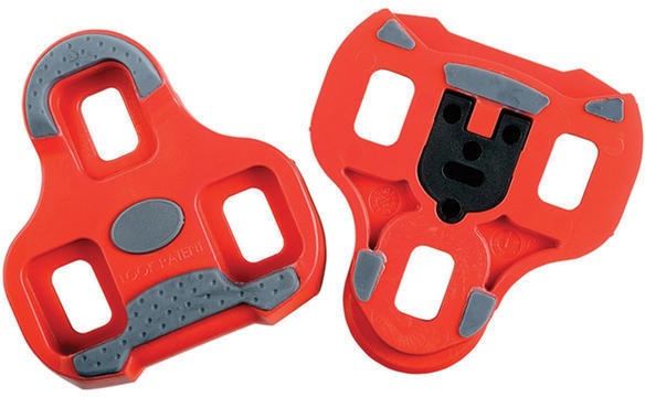 Look Keo Grip Cleats Color | Model: Red | 9 degrees float